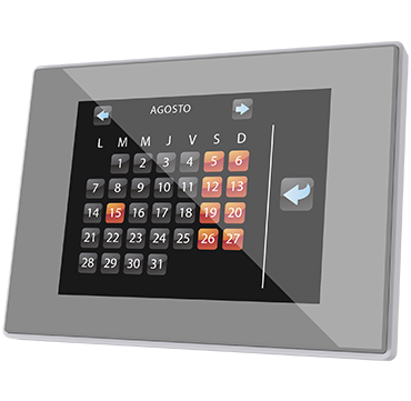Z41 Pro Full Color Capacitive Touch Panel Pro with IP Connection