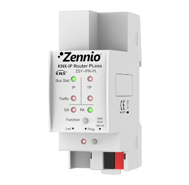 Zennio KNX-IP Router PLess